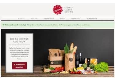 """Lebensmitteleinkauf nach Kochrezept - Das ist """"Das Kochhaus"""""""