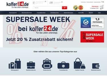 Dein Koffer24-Gutschein sorgt für tolle Preisvorteile