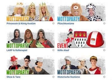 Karnevalskostüme, Outfits für den JGA und Co. werden mit einem Kostüme.com-Gutschein preisgünstig