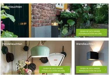 Wow, so viel Auswahl! Welche Lampe wirst du kaufen?