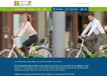 Alle Informationen über Lidl-Bike direkt auf der Startseite