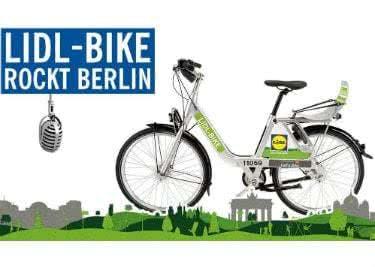 Mit Lidl Bike schnell und preiswert in Berlin unterwegs