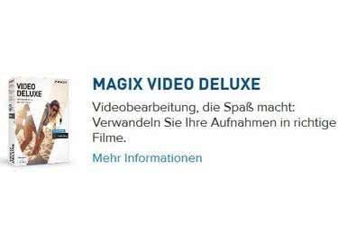 Gutschein einlösen und Magix-Software günstiger bestellen.