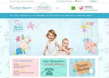 Alles fürs Baby gibt es bei Maxis-Babywelt