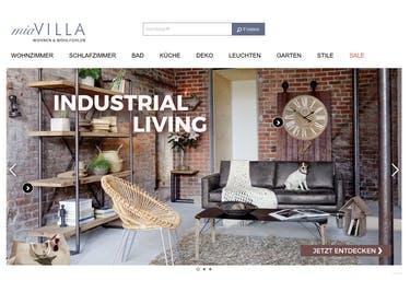 Bei miaVILLA shoppst du coole Möbel, schicke Siitzgelegenheiten und kuschelige Textilien