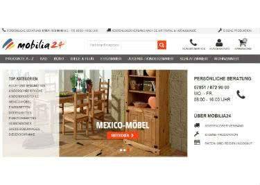 Möbel und Dekoration bestellt ihr günstig bei mobilia24