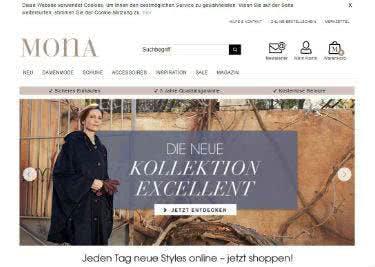 Damenmode, Schueh und Accessoires bei Mona kaufen