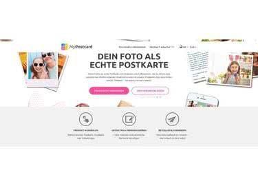 MyPostcard Startseite