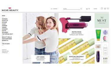 Produktsortiment bei Niche Beauty
