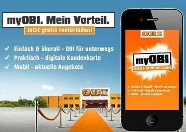 Mit der Obi App kannst du unterwegs bestellen und findest aktuelle Angebote und Baumärkte in deiner Nähe.