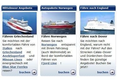 Eine Schifffahrt wird dank eines Ocean24-Gutscheins günstiger