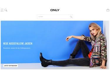 Die Kollektionen von ONLY findest du nicht nur in einer Filiale, sondern auch im Onlineshop