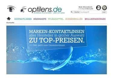 Optilens.de Startseite