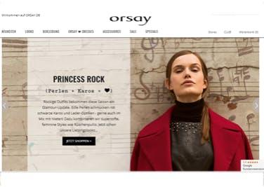 Günstig neuste Mode shoppen bei Orsay