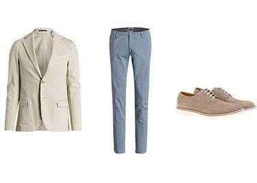 Jackets Hosen und Schuhe