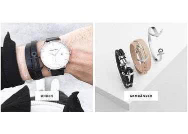 Mit einer schmucken PAUL-HEWITT-Uhr rundest du dein Outfit ab