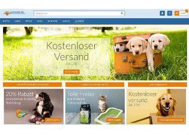 Attraktive Petmeds-Angebote direkt auf der Startseite
