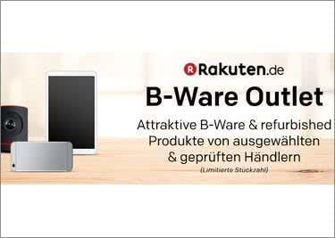 Mache ein Schnäppchen im Outlet von Rakuten.de