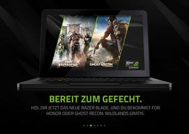 Entdecke neue Spiele und technisches Zubehör von Razer