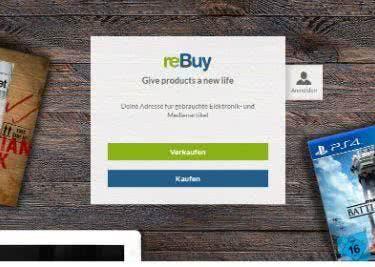 Der reBuy-Onlineshop