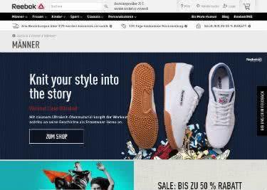 Sportliche Mode kannst du mit einem Reebok-Gutschein online günstiger bestellen