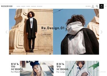 Im Onlineshop von RESERVED ergatterst du neuste Mode zum kleinen Preis