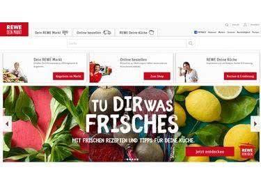 Lebensmittel günstiger bestellen mit REWE-Gutschein