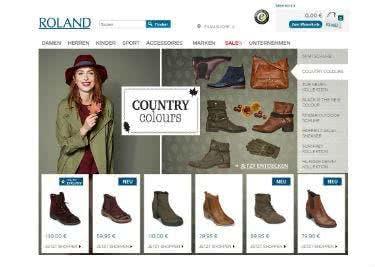 Schuhe bei Roland kaufen