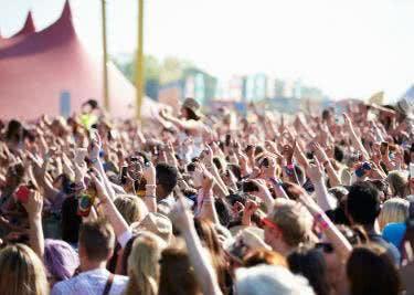 Konzerte und Festivals genießen