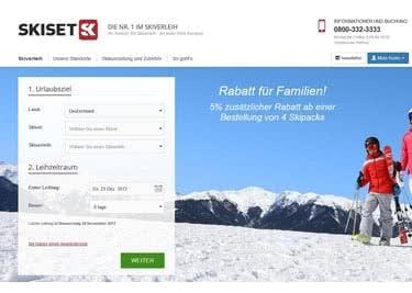 Dein Online-Skiverleih - Buche jetzt deine Ausrüstung für den Winterurlaub