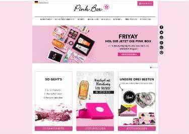 Sparen mit Gutscheinen für die Pinkbox