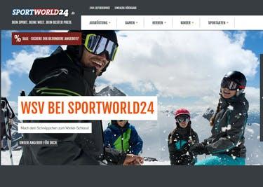 Alle Artikel von Sportworld24 werden mit einem Gutschein preisgünstiger