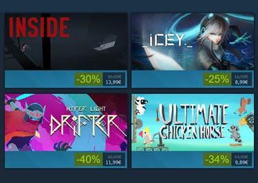 Keine Angebote von Steam verpassen