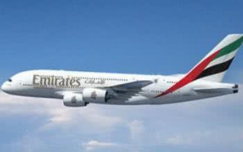 Zahlreiche Maschinen, darunter der neue A380, gehören zur Flotte von Emirates
