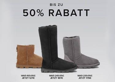 Schuhe von UGG Emporium: mit einem Gutschein noch günstiger