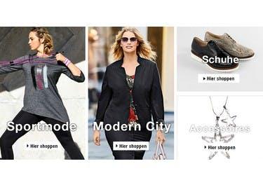 Schnappe dir einen kostenlosen Gutschein und spare bei Mode von Ulla Popken