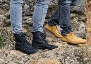 Spare beim Kauf von Outdoor-Schuhen bei Vivobarefoot