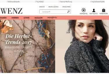 Mode und Möbel bei Wenz kaufen