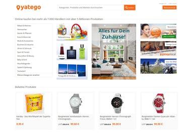 Spannende Produkt-Highlights entdecken auf der Yatego Startseite