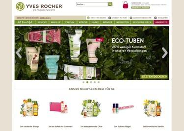 Yves Rocher Startseite