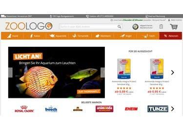 Futter und Tierzubehör shoppst du mit einem Gutschein für ZOOLOGO tierisch günstig