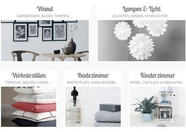 Mit unseren Gutscheinen für Geliebtes-Zuhause, kannst du in allen Kategorien des Shops sparen