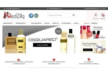 Eine günstige Auswahl an Parfums erwartet dich bei RedZilla