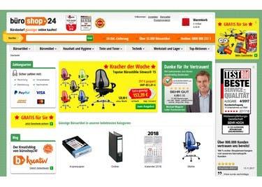 Mit einem büroshop24-Gutschein kaufst du Büroartikel, Büromöbel und vieles mehr günstiger ein