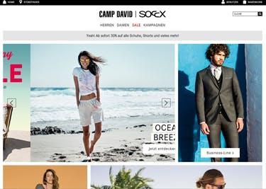 Bei Camp David findet ihr Klamotten in vielen Styles