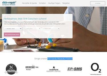 Clickrepair Startseite