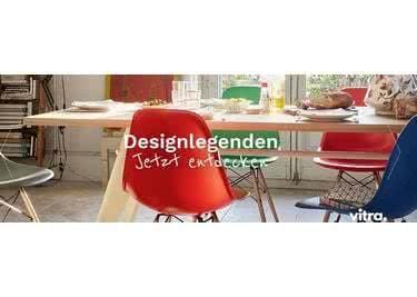Die Design-Möbel schaffen ein stilvolles Ambiente in deiner Wohnung