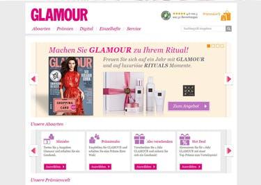 Das Glamour-Lifestyle-Magazin gibt es dank Gutschein zum kleinen Preis