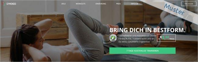 Das perfekte Workout bequem von zu Hause mit Gymondo