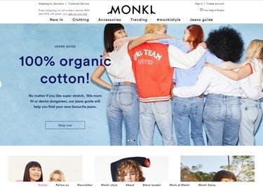 Monki-Startseite